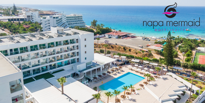 Napa Mermaid Hotel & Suites, Ayia Napa, Cyprus - whatsoncyprus.co
