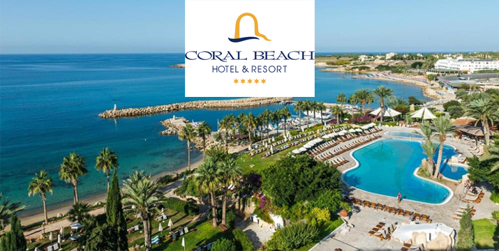 Coral Beach Hotel & Resort - Luxury Resort in Paphos - Cyprus