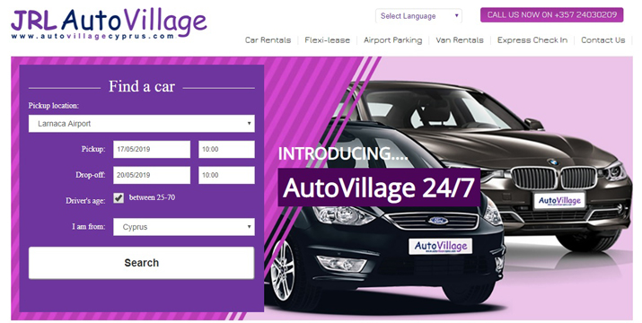 car rental cyprus auto village whatsoncyprus