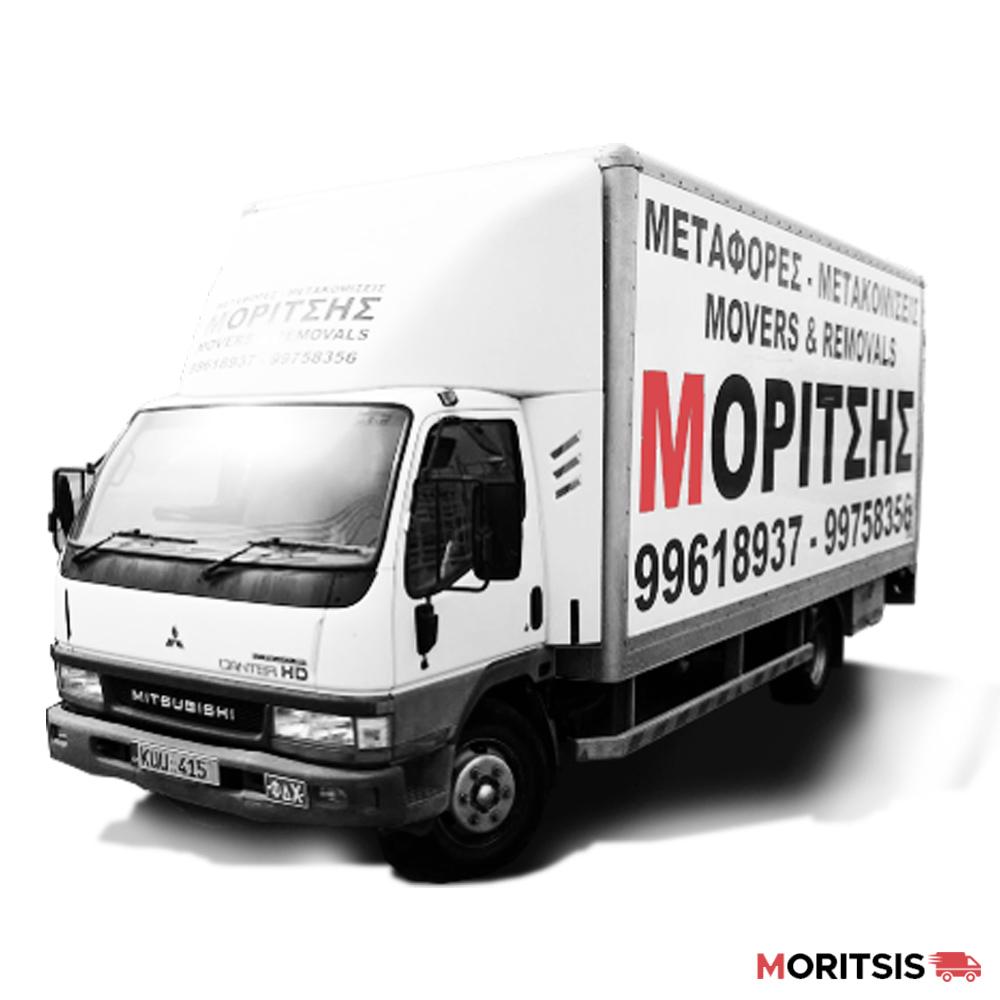 μεταφορες μετακομισεις λευκωσια κυπρος - moritsis - whatsoncyprus