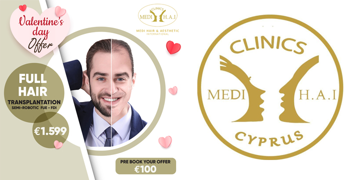 MEDI H.A.I. focuses Hair Restoration and Aesthetic Surgery - Cyprus - Limassol