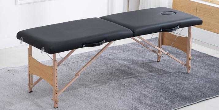 Φορητό Ξύλινο Αναδιπλούμενο Επαγγελματικό Κρεβάτι Μασάζ - Portable Massage Table Bed - Massage Bed